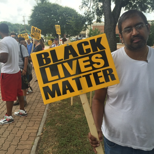 Black Lives Matter protesters mark three-year anniversary of Larry Jackson, Jr.'s death, July 26, 2016_317035