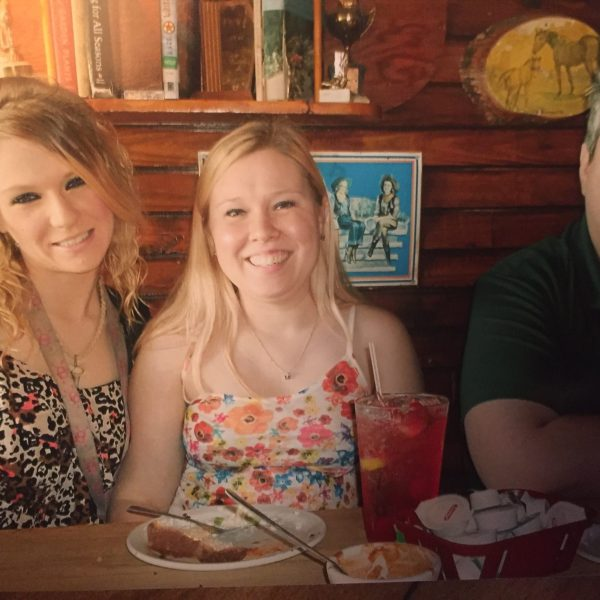 Twenty-six-year-old Brittany Parker, far left, went missing in Austin on July 12_314214