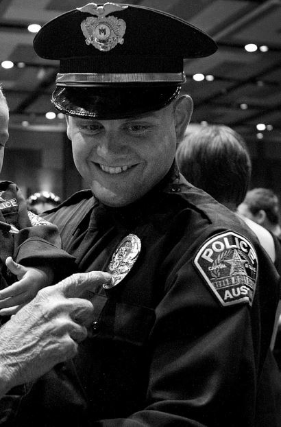 Officer Bryan Richter at his police graduation ceremony in 2010_315228