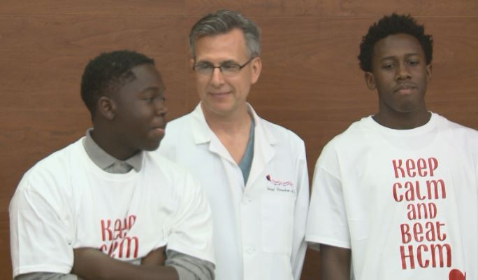 Two young athletes who were revived by CPR with their doctor at Dell Children's on July 12, 2016_311238