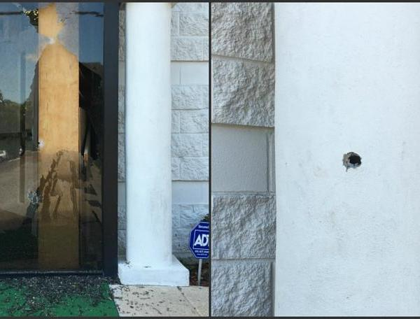 Islamic Center shooting damage in College Station_309074