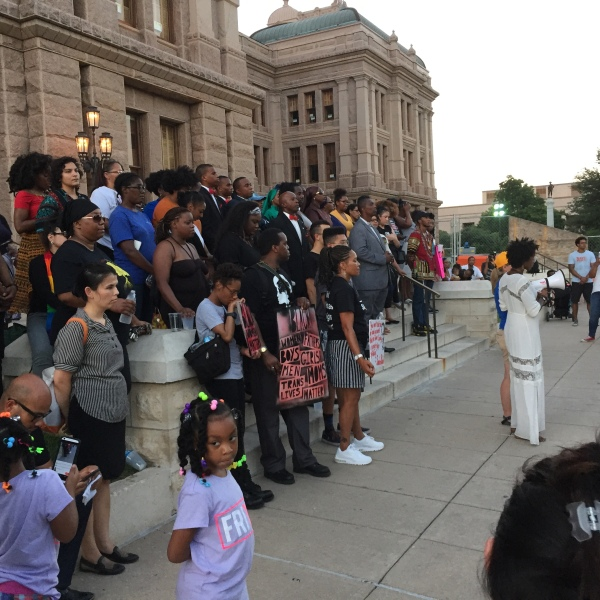 Group marches to the Capitol to mark the death of Sandra Bland_311831