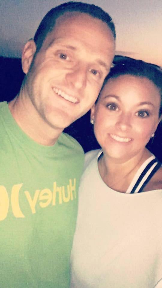 A Snapchat photo of Matt and Sunday Rowan prior to the hot air balloon ride. (Snapchat Photo)