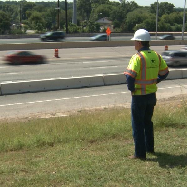 North MoPac toll lanes under construction, July 1, 2016_307026