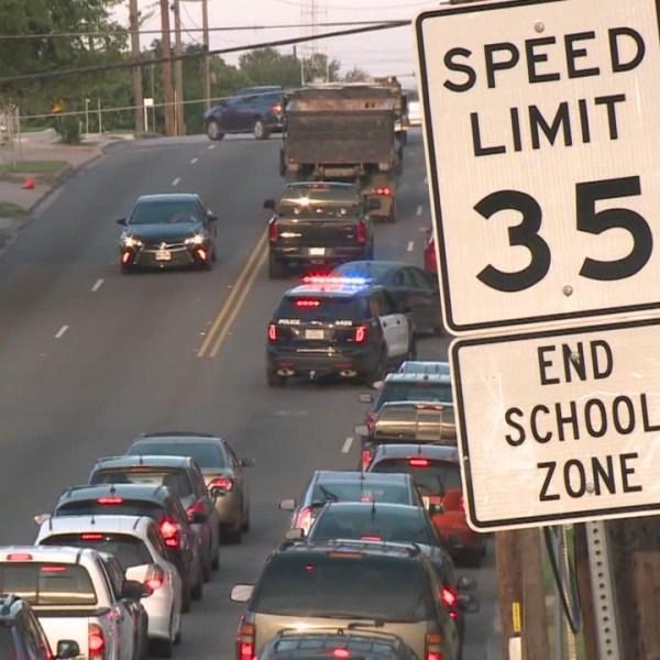 Drivers speeding through school zones, 300 tickets issued