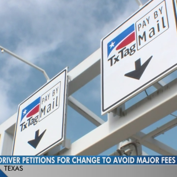 Driver petitions for changes on Texas toll fees