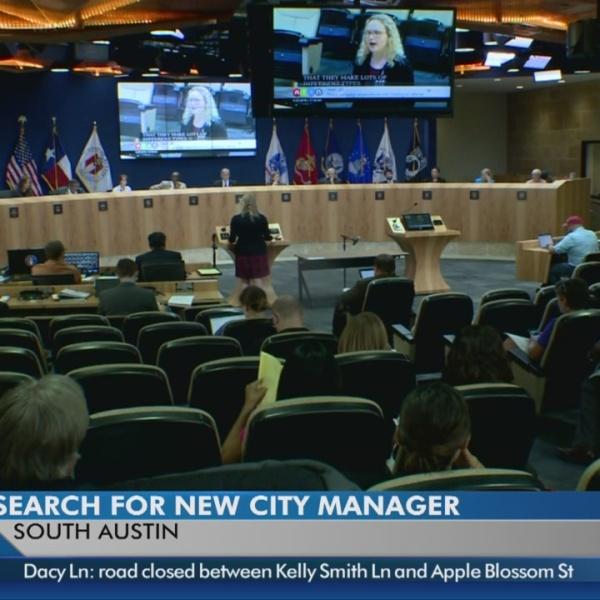 Search underway to find next leader of Austin city government