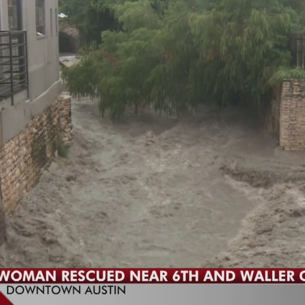 Woman rescued from Waller Creek in downtown Austin