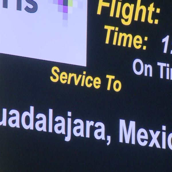 ABIA launched a flight to Guadalajara Sunday, August 7, 2016._328603