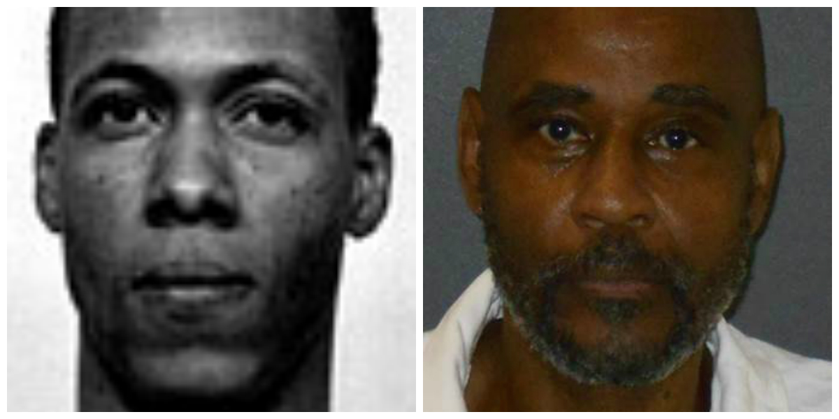 Jackson, left, and Clary, the men convicted of raping and killing Robison. Jackson has been executed.