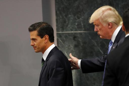 Donald Trump, Enrique Pena Nieto_342451