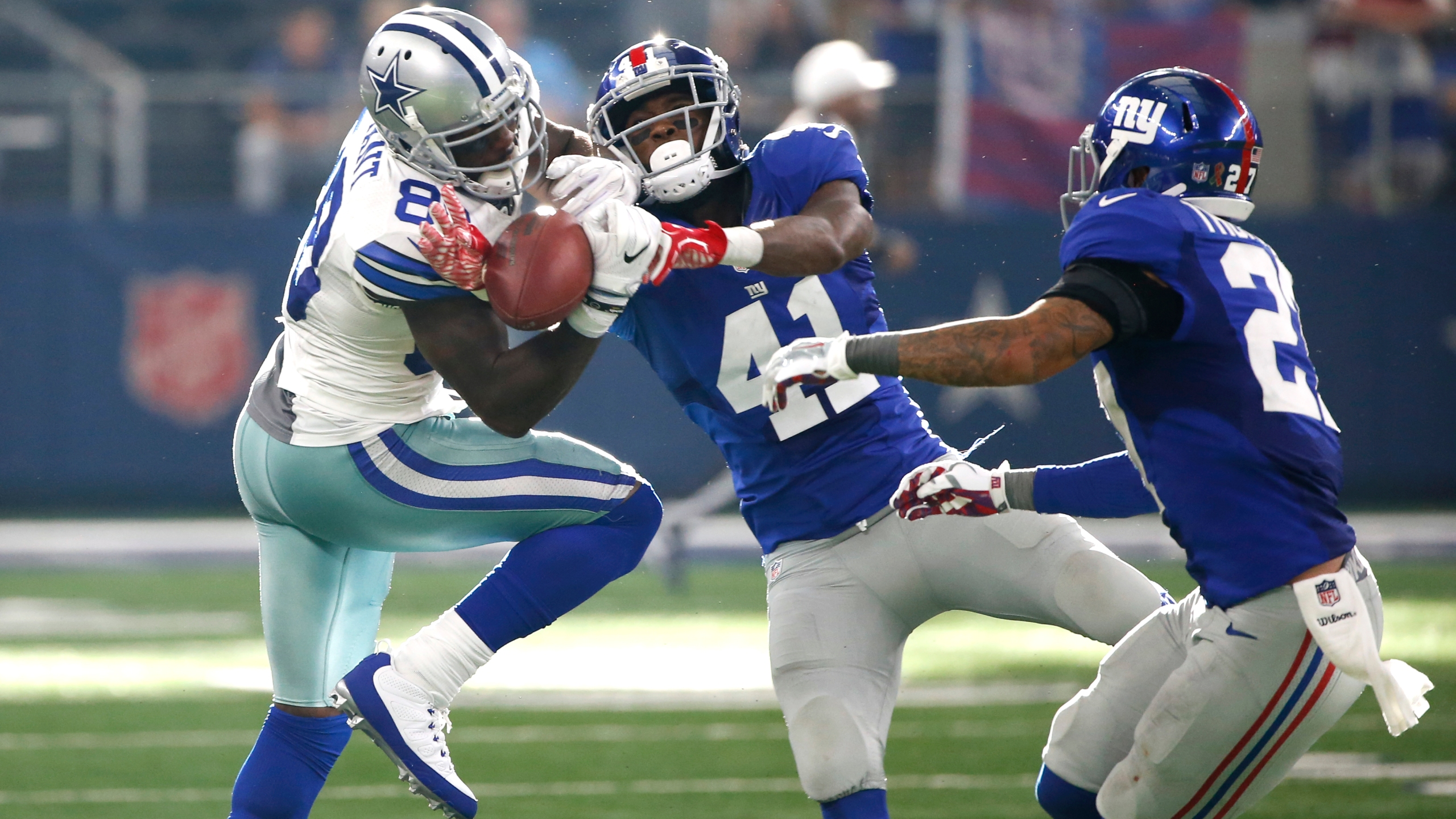 Dez Bryant ;Dominique Rodgers-Cromartie;Darian Thompson_346450
