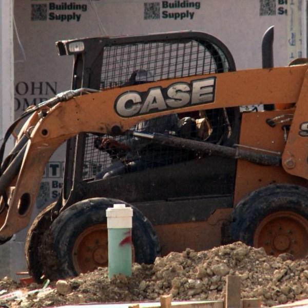 Construction worker on a new development_342895