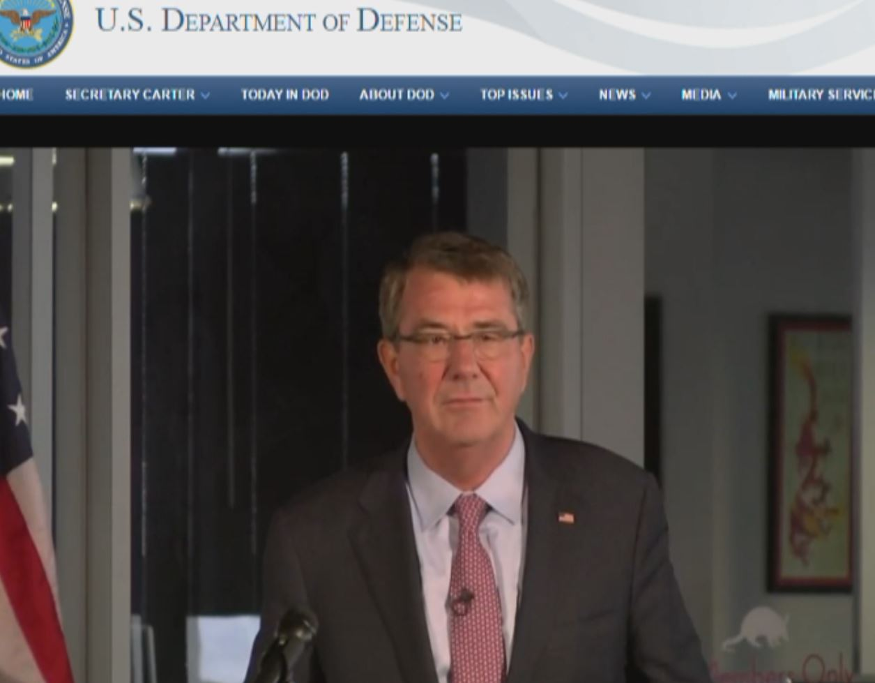 Secretary of Defense Ash Carter announced opening of the DIUx Austin outpost at the Capital Factory in Austin , of course it was live streamed on the DoD's website.