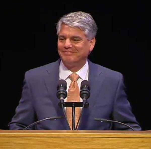 President Greg Fenves at the State of the University speech_347439
