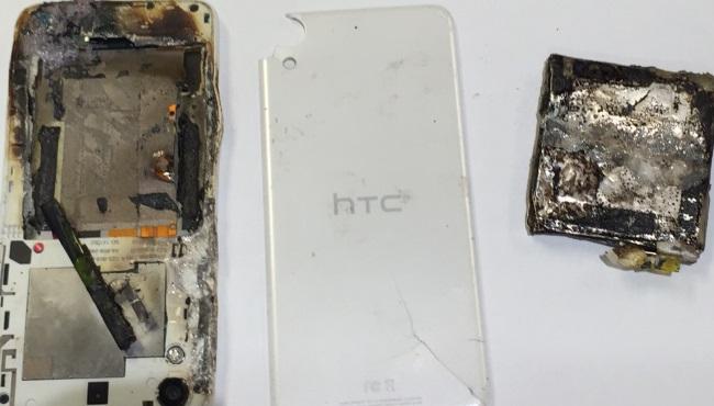 HTC phone fire_342982