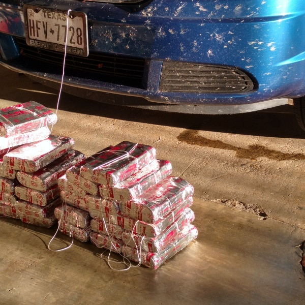70 pounds of cocaine were found in a woman's car during a traffic stop_351421