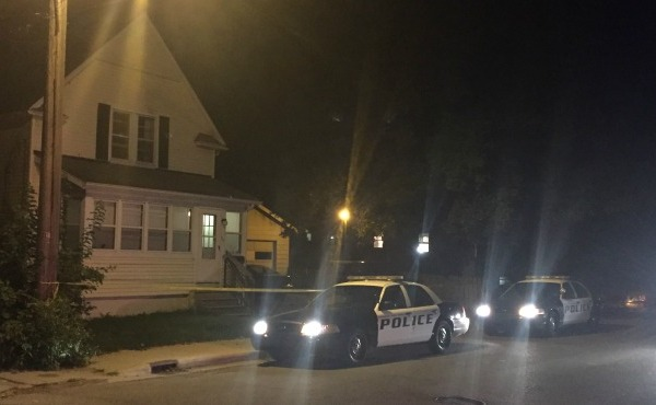 Police investigate after two teens were found dead in Kalamazoo. (Sept. 6, 2016)_344463