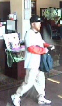 IBC Bank robbery suspect. (Courtesy of: Round Rock Police Department)