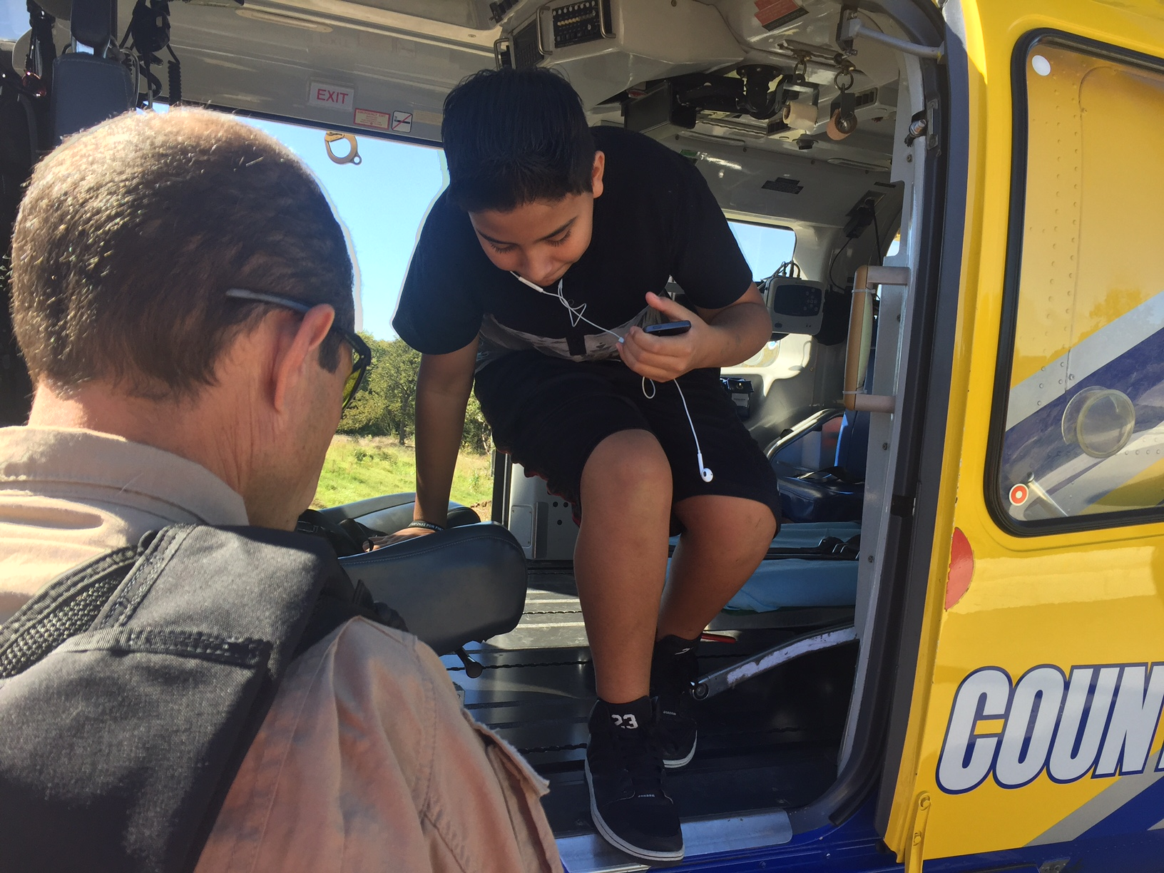 Residents attend the 7th annual Public Safety Day. (KXAN_Frank Martinez)_365030