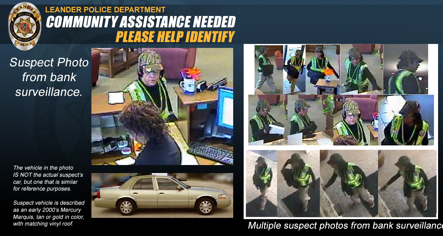 Leander - Compass Bank Robbery