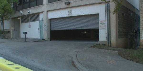 Blackwell-Thurman Criminal Justice Center parking garage entrance_356486