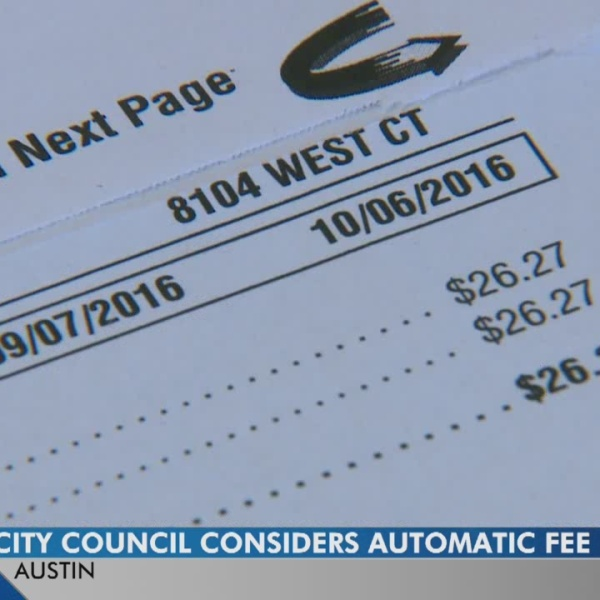 Austin Energy Oversight Committee mulls automatic fee exemption
