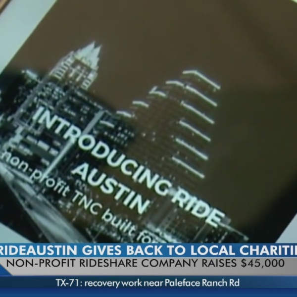 33,000 RideAustin users have donated to local charities