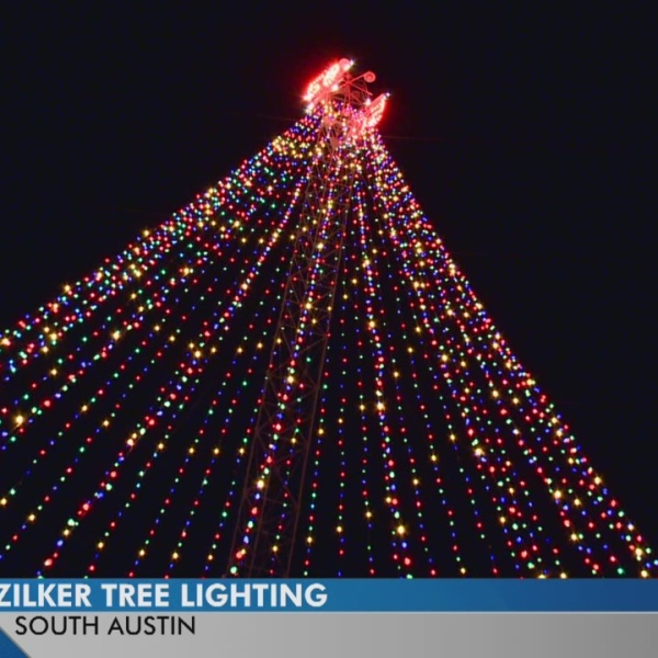 50th anniversary Zilker tree lighting