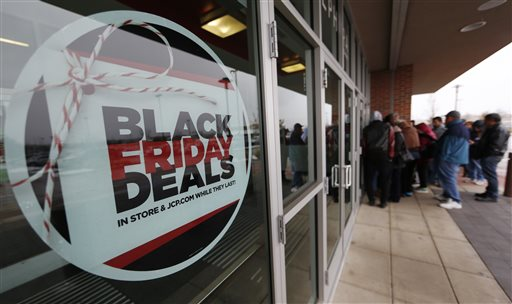 Black Friday Sales, Shoppers, J.C. Penny_375992
