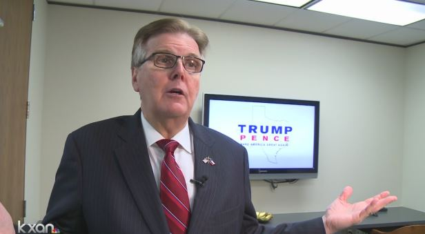Lt. Gov. Dan Patrick reacts to election win of Donald Trump_372757