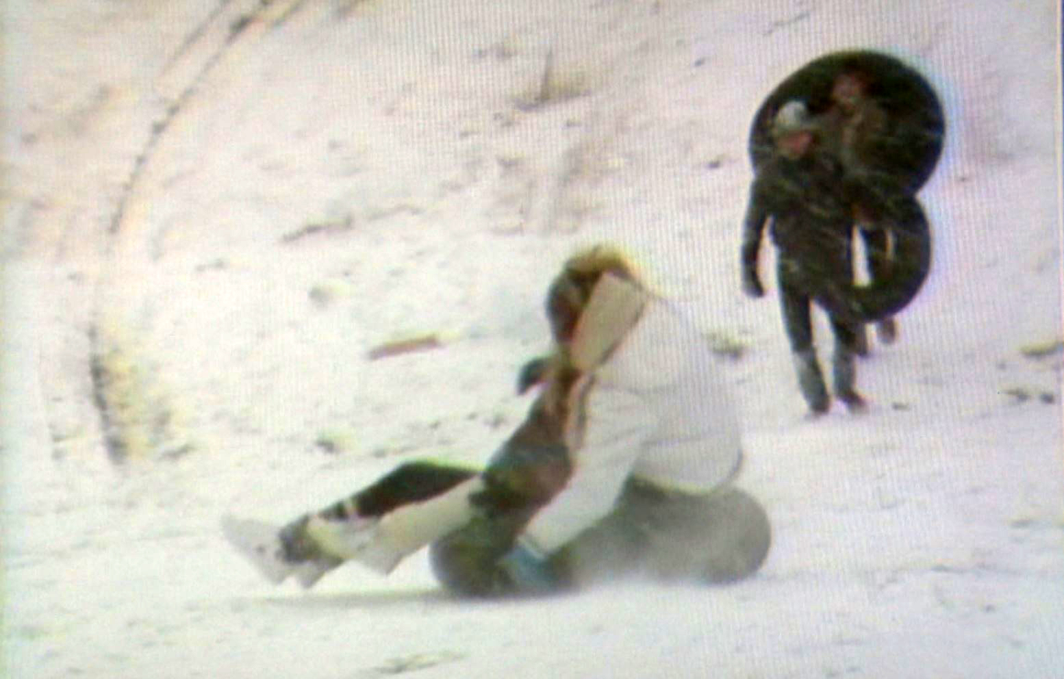 People playing in the snow in Austin during the winter of 1984/85. (KXAN FILE Photo)