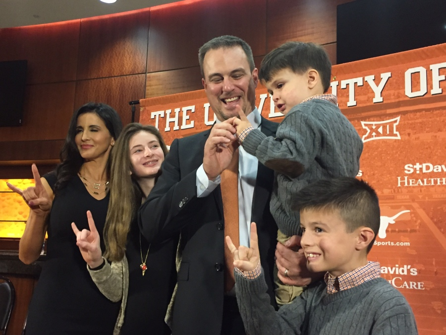 Tom Herman and his family_379528