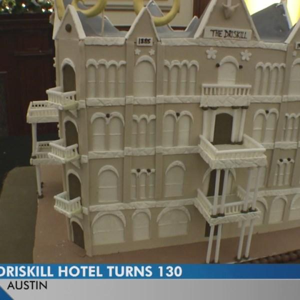 Iconic Driskill Hotel celebrates 130th birthday with giant cake