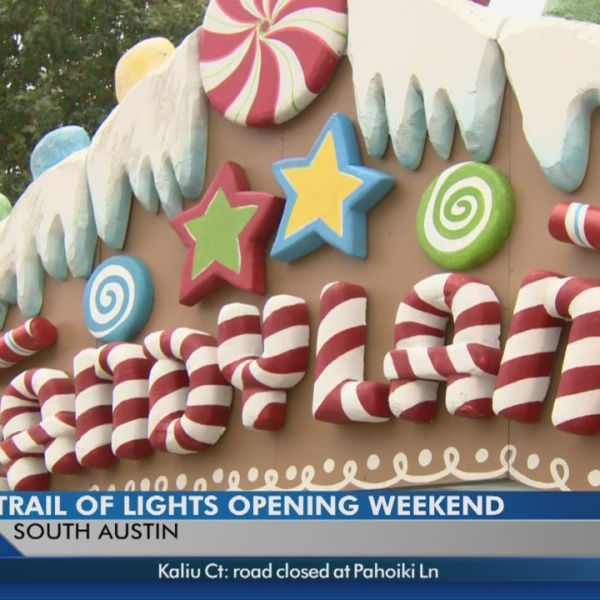 52nd annual Trail of Lights kicks off