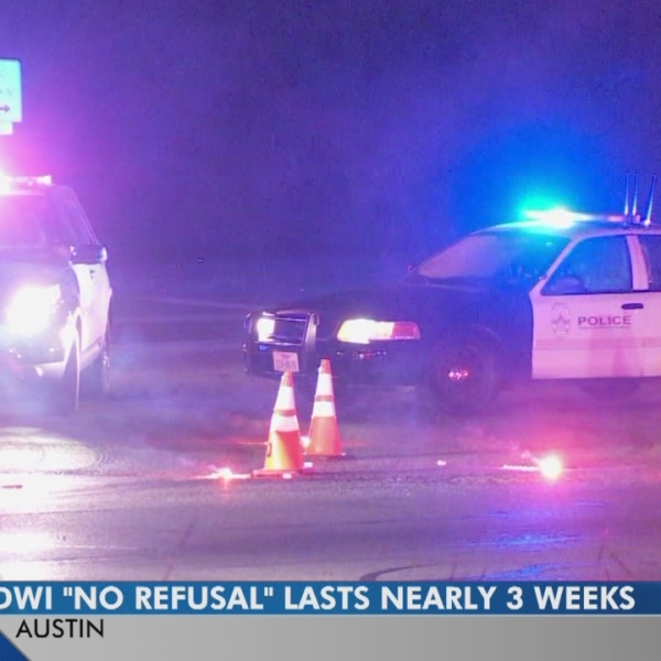 Austin police looking for drunk drivers for extended no refusal days