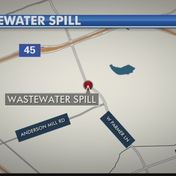 Wastewater spill repaired in NW Austin