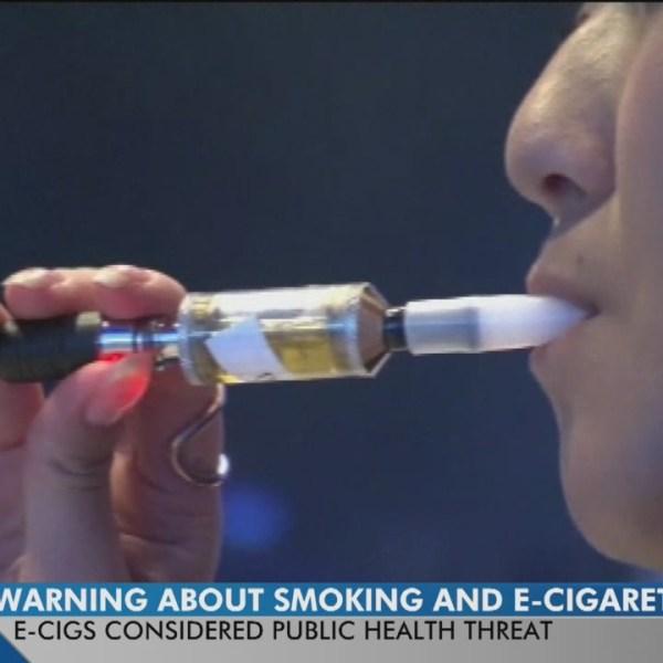 New e-cigarette warning