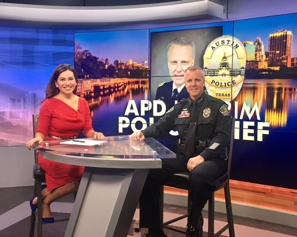 Interim Police Chief Brian Manley joined us in the studio to discuss top issues on the minds of Austinites_381966