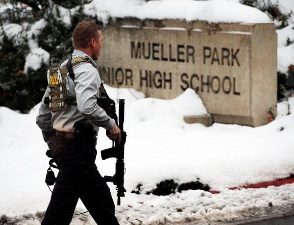 Utah Middle School Gun Fired_381666