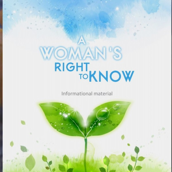 A Woman's Right to Know_385062