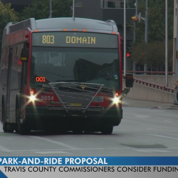 Travis County Commissioner's court postpone park and ride funding vote