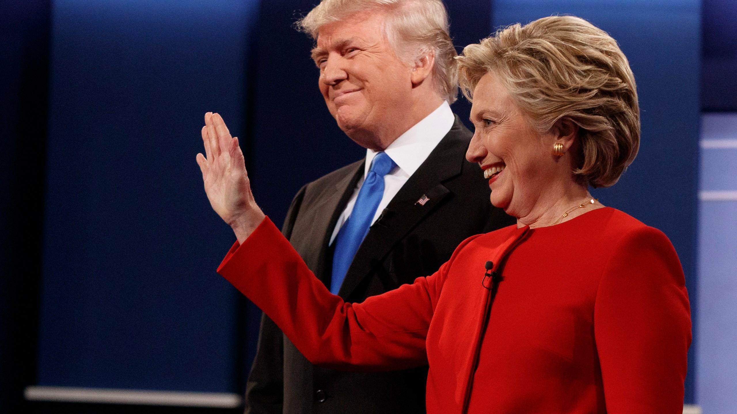 Donald Trump, Hillary Clinton_363910