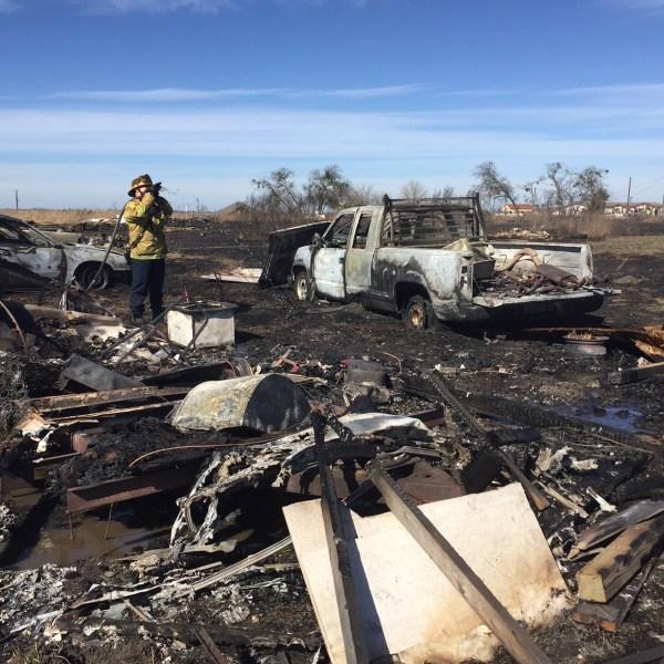 Del Valle brush fire 1_24_17 (KXAN Photo_Ed Zavala)_403638
