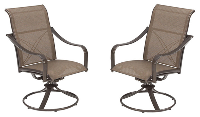 Swivel patio chairs sold at Home Depot recalled for fall hazard_407567
