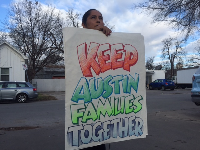 Austin immigration allies planning to fight Donald Trump's immigration policies (KXAN Photo)