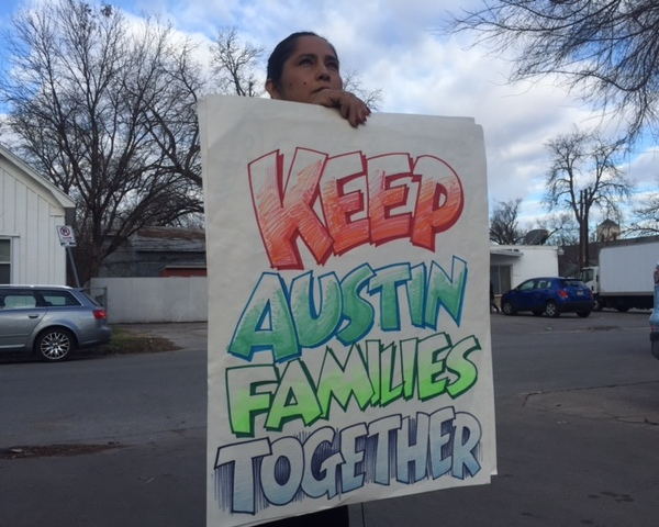 Austin immigration allies planning to fight Donald Trump's immigration policies (KXAN Photo)_397151