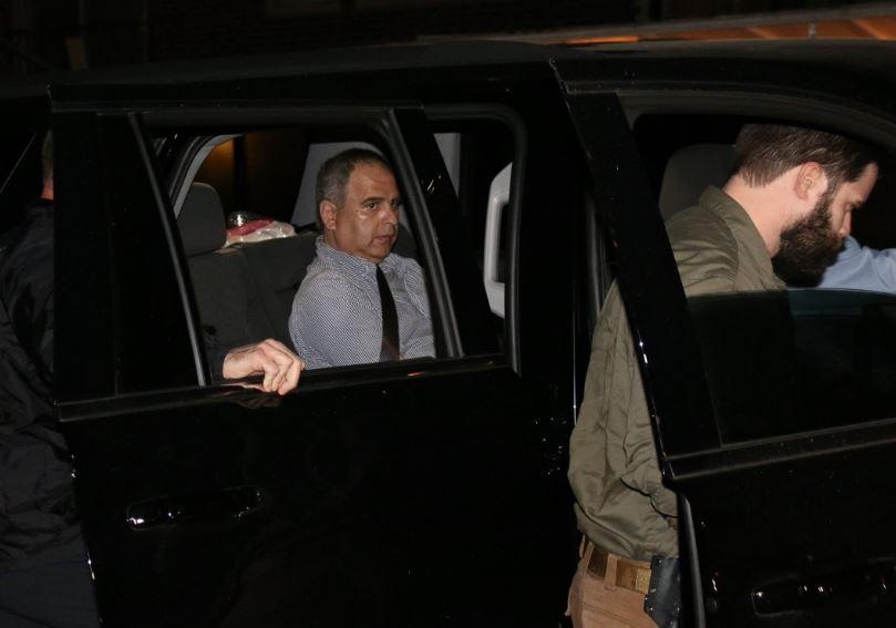 Fugitive Robert Van Wisse arrives at the Travis County Jail. Jan, 26, 2017_405079