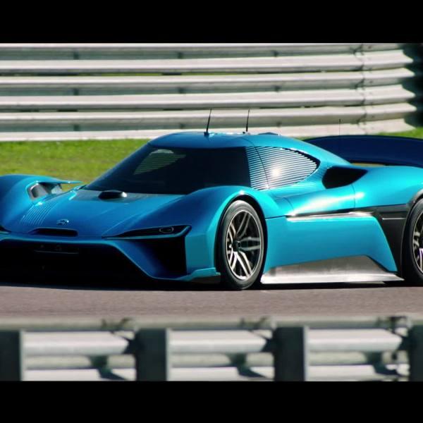 NIO EP9 supercar autonomous vehicle_427183