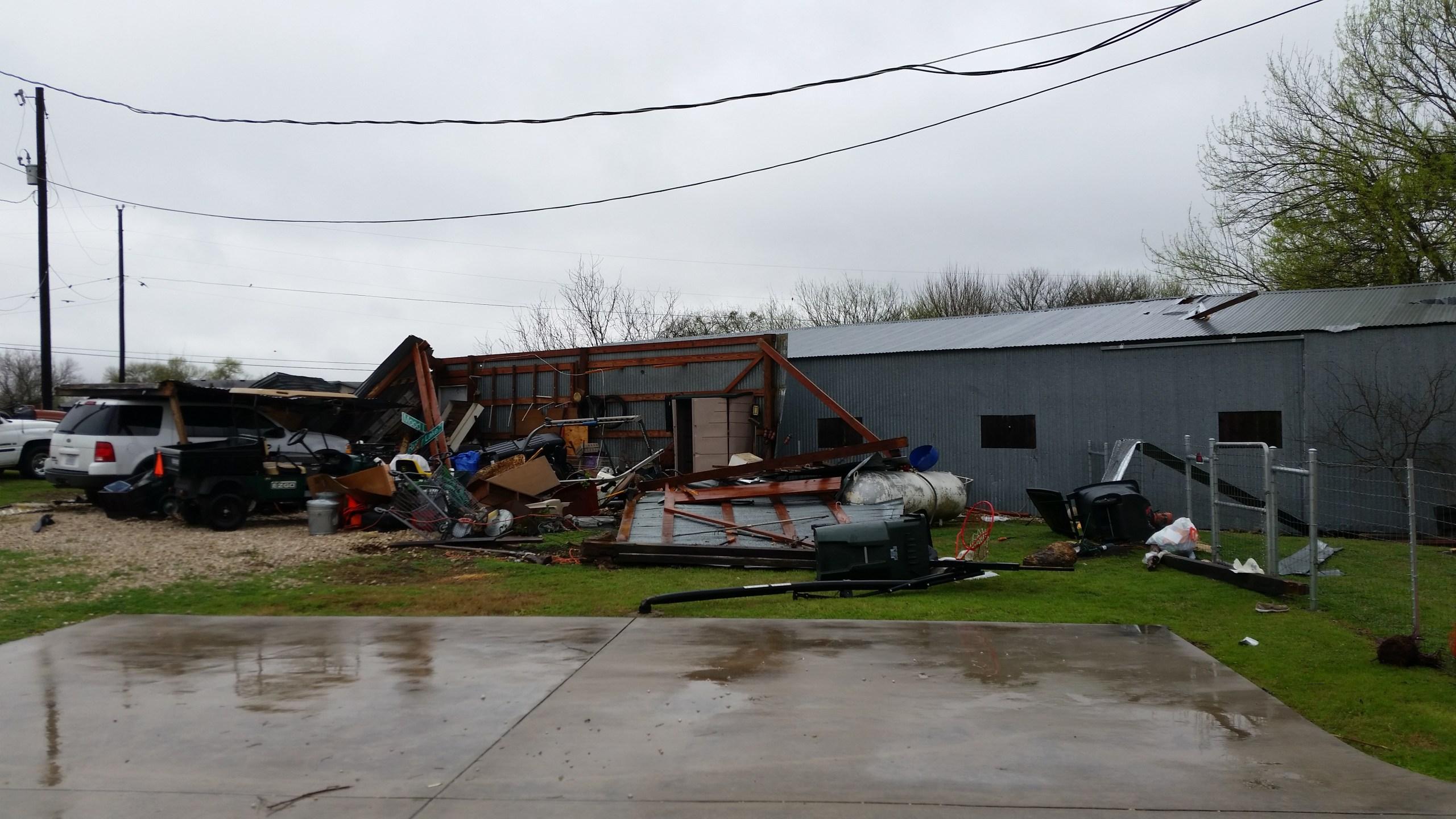 Damage in northeast Kyle, Texas_422457